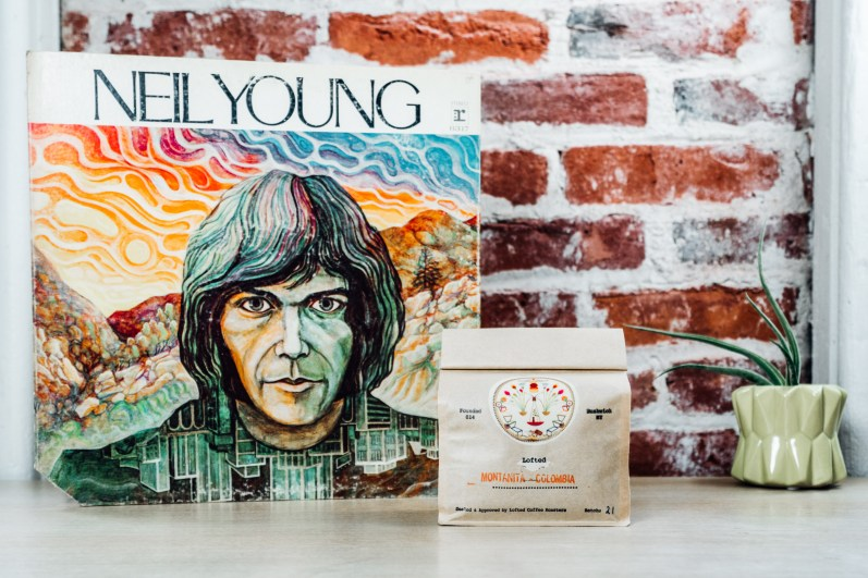 Lofted Coffee Roasters & Neil Young Album