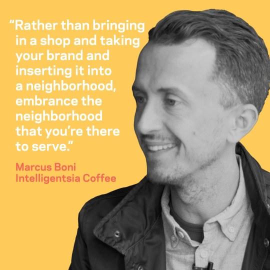 Marcus Boni on neighborhood