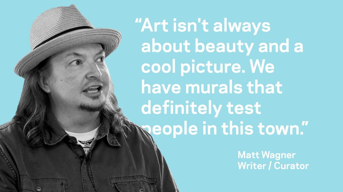 Matt Wagner on beauty