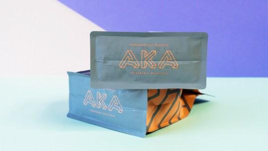 AKA Coffee bottom bag