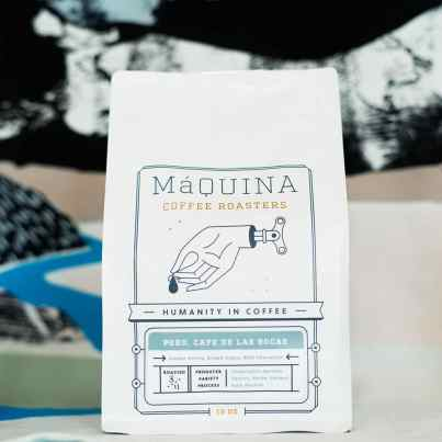 Máquina Coffee Roaster Peru, Cafe De Las Rocas coffee