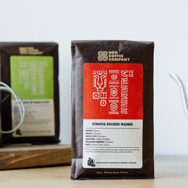 Ozo Coffee Company Ethiopia Kochere Washed coffee
