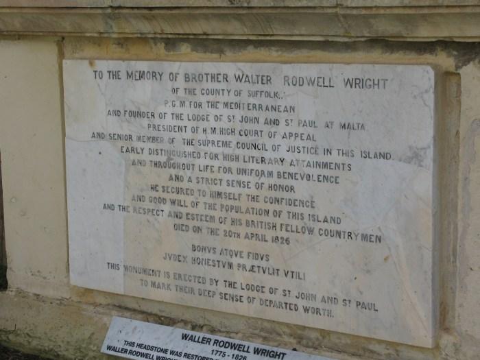 Msida Bastion Garden of Rest Malta