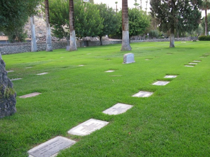 Wellwood Murray cemetery Palm Springs CA USA