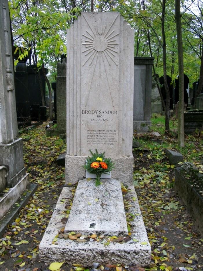 Old Jewish Cemetery Budapest Hungary Brody Sandor