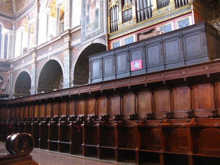 The nuns hall, Milan