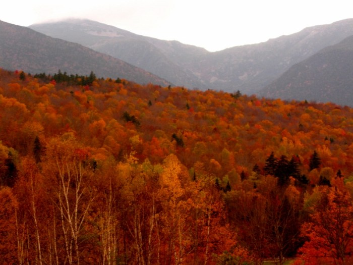 New Hampshire in the Fall