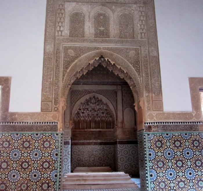Marrakesh tombs