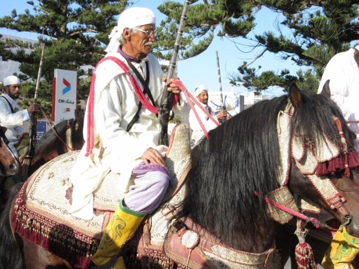 Essaouira horsback parade