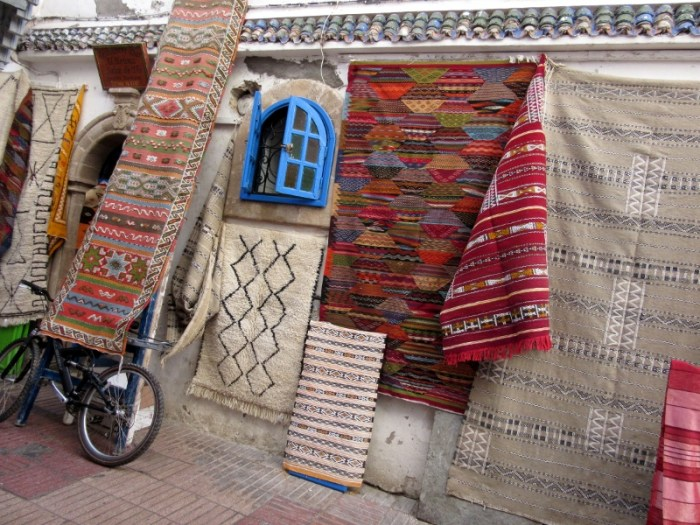 Essaouira carpets and rugs