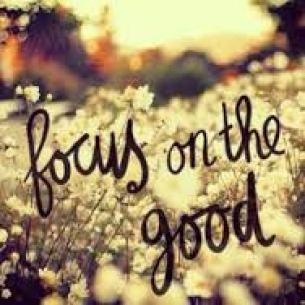 focusing on good