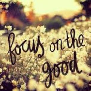 focusing on good
