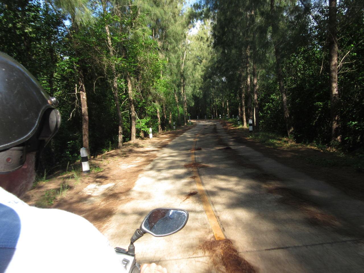 motorbike in Thailand