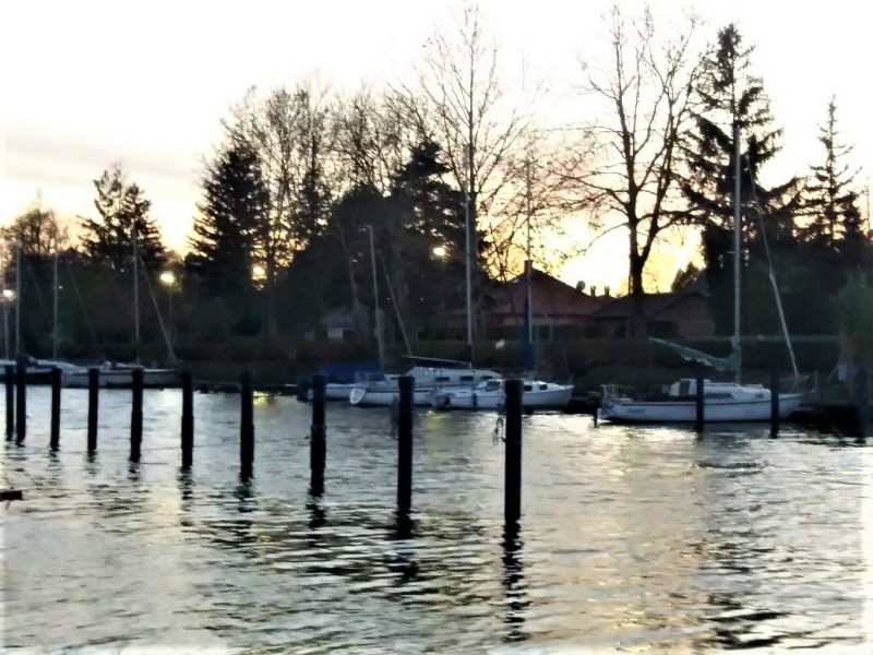 Boats at Balatonmáriafürdő
