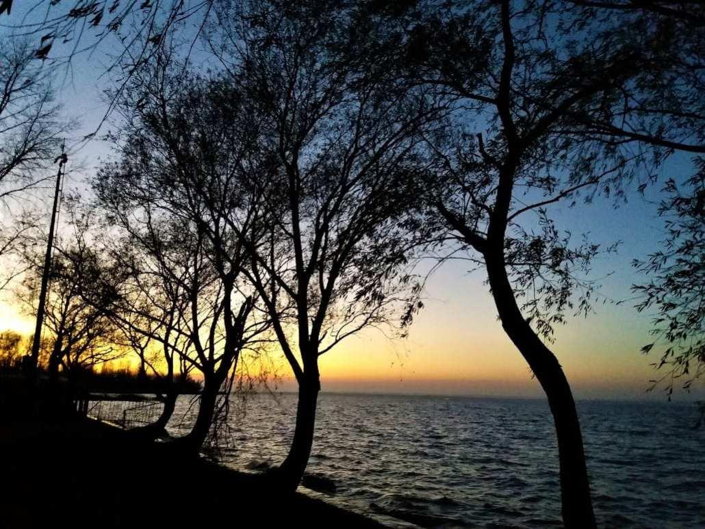Sunset at Balatonberény
