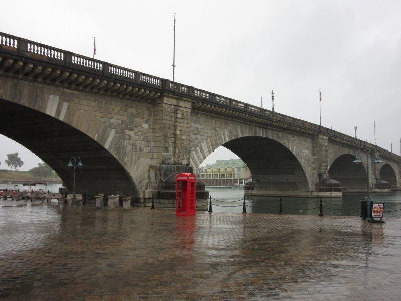 Valentine's Day, London Bridge, Lake Havasu