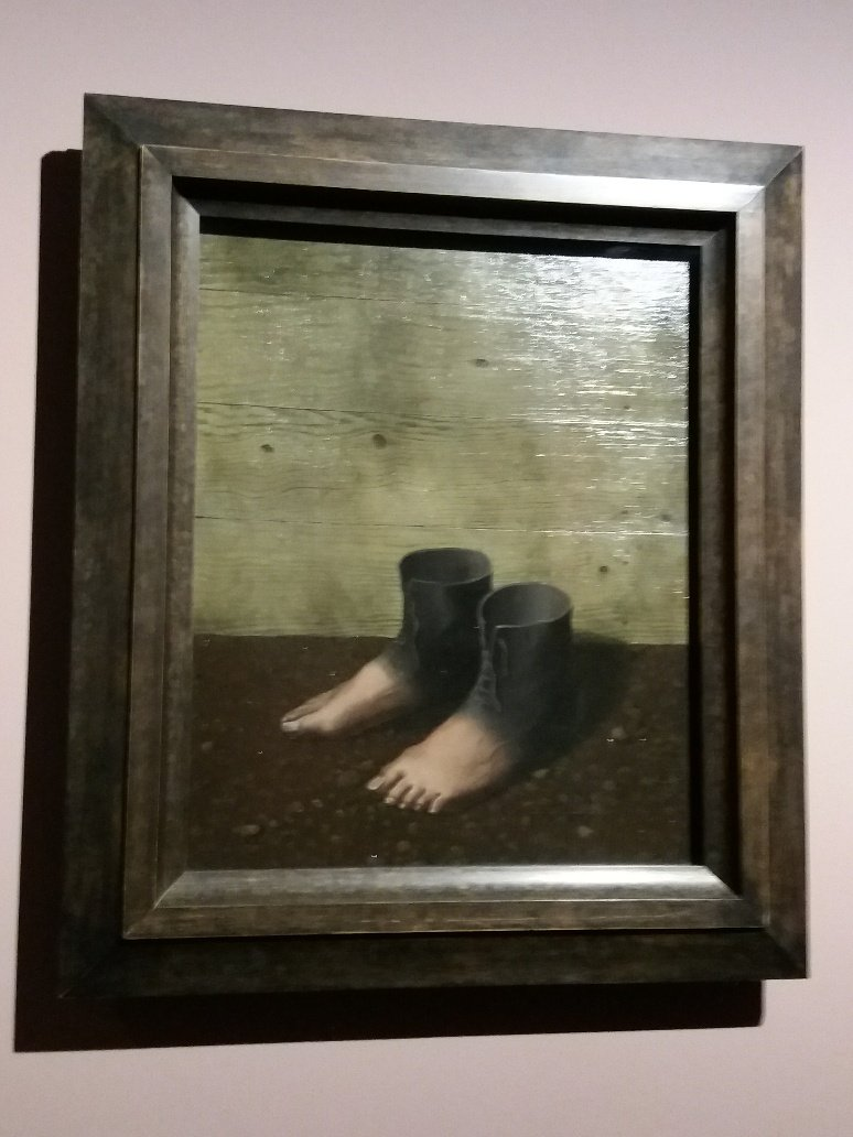 René Magritte's The Red Model Surrealism