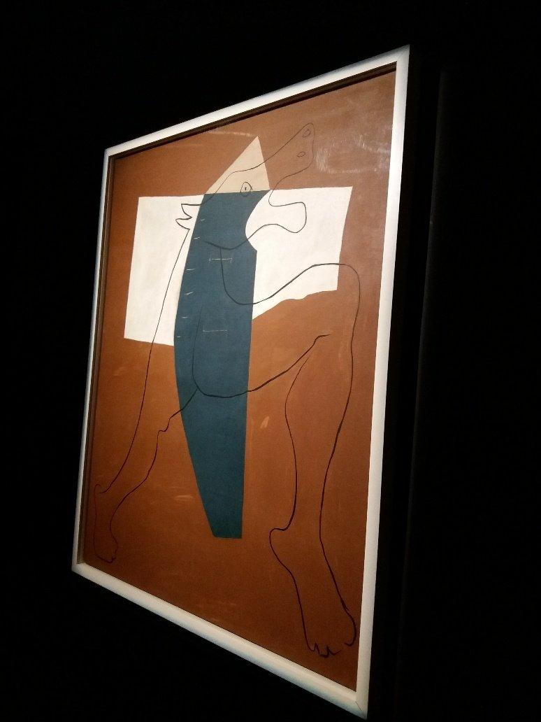 Picasso's Running Minotaurus Surrealism