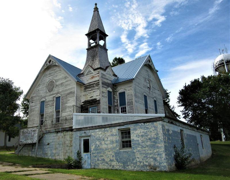 Old church in Balaton Minnesota
