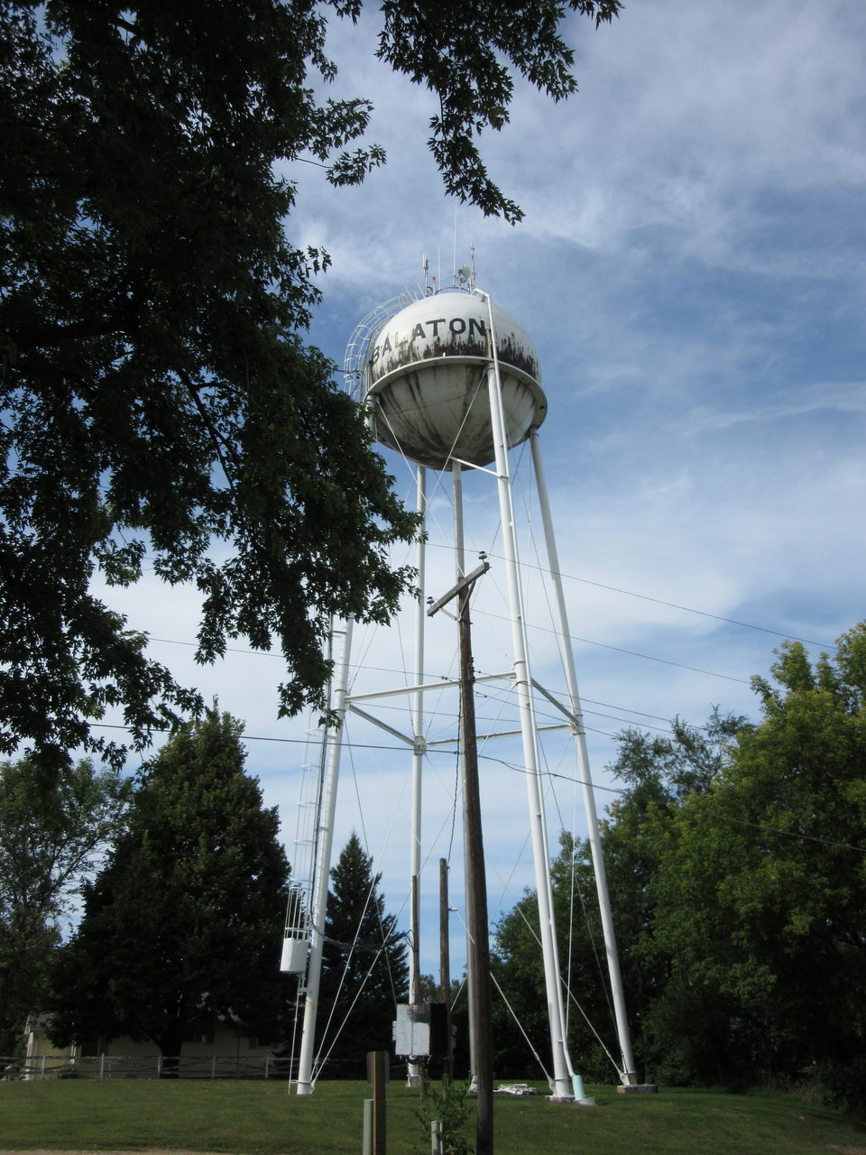 Water tower in Balaton Minnesota
