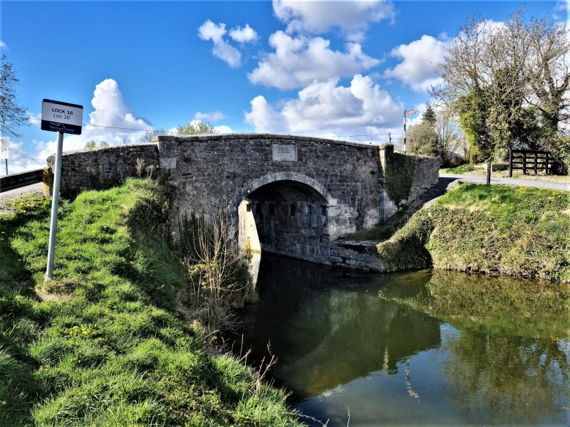 Digby Bridge over the Grand Canal in Co Kildare