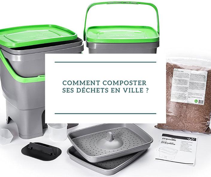 Comment composter ses déchets en ville ?
