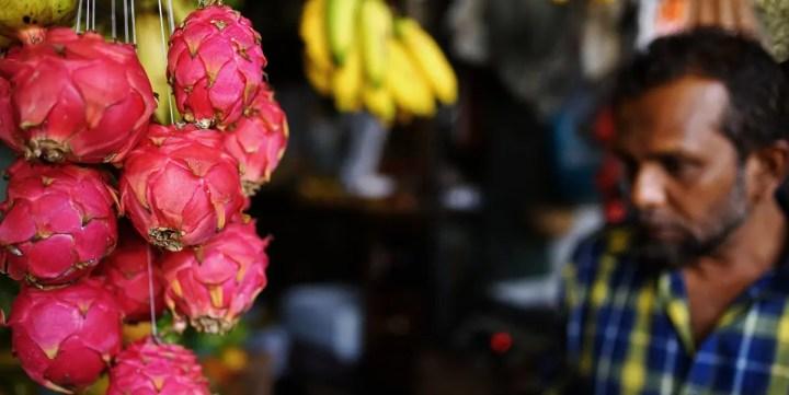 Visite au marché de Kandy