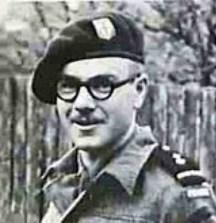 Augustin Hubert, mort au combat à Ouistreham le 6 juin 1944. Il donne son nom au Commando Hubert.