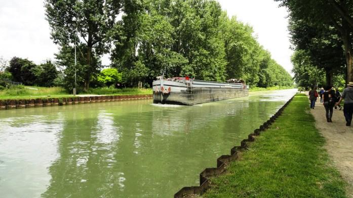 Canal de Chelles - Péniche