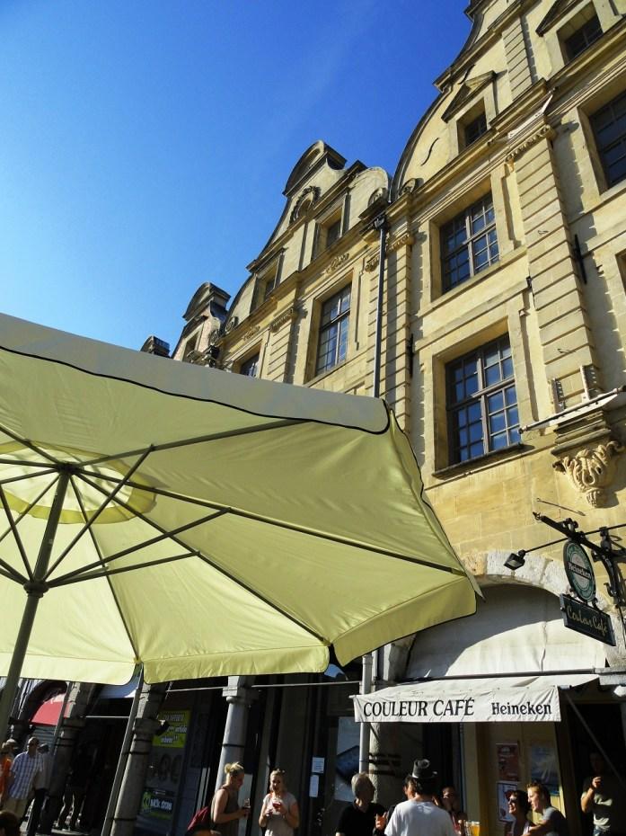 Arras - Place des Héros - Café
