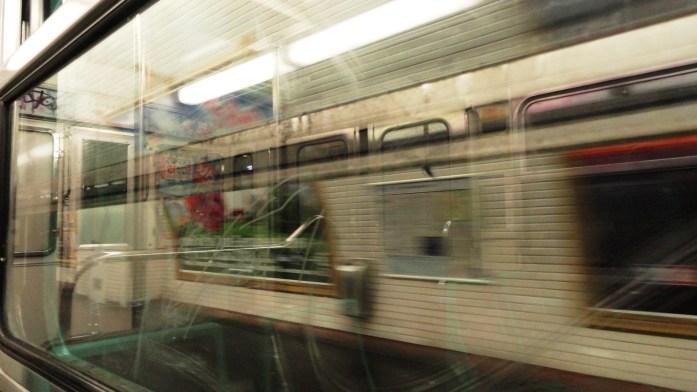 La ligne 3 bis - A quai