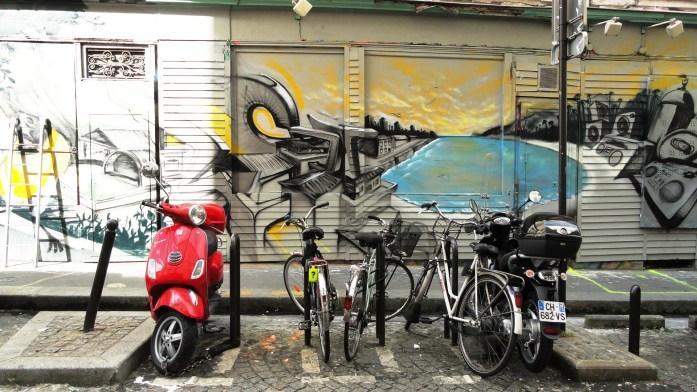 Promenade dans Montmarte - croisement rue des Trois Frères / rue La Vieuville - Street Art