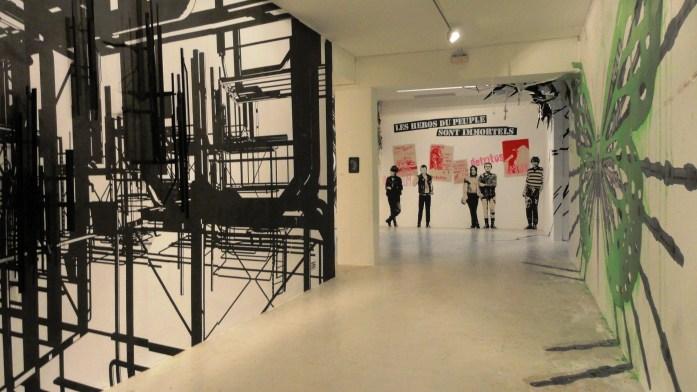 Etat des Lieux 2013 - Galerie du jour, Agnès b. - 36RECYCLAB et Poch