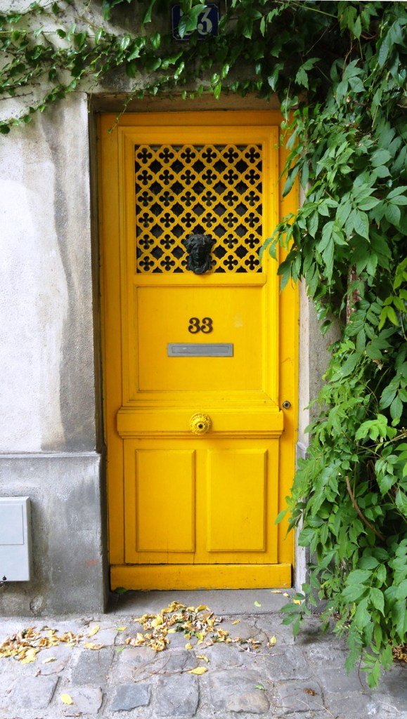 Rue des Thermopyles, Paris 14e - Porte