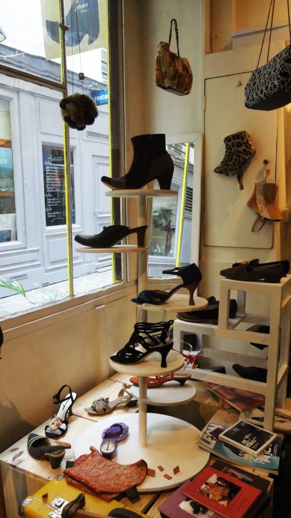 Passage Molière - Boutique Tamano, souliers