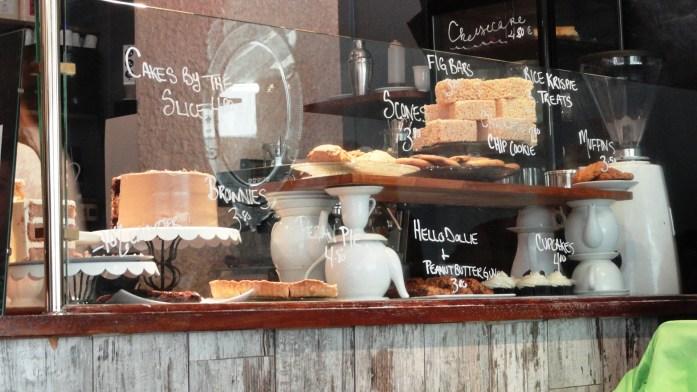 Sugarplum, Paris 5e - Vitrine des Gâteaux