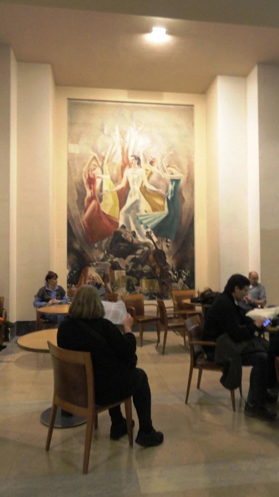 Théâtre de Chaillot - Art Déco - Foyer, Fresque