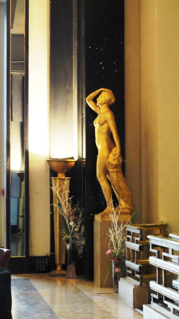 Théâtre de Chaillot - Art Déco - Foyer, sculpture