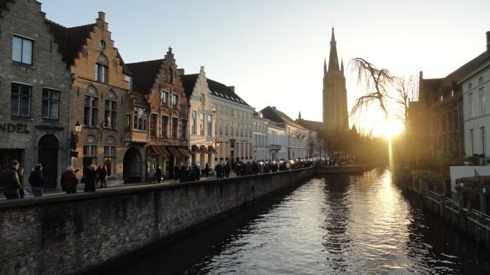 Bruges - Depuis la Wolkestraat