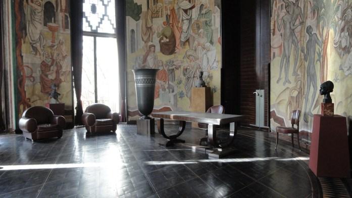 Palais de la Porte Dorée - Le salon ovale de Paul Reynaud