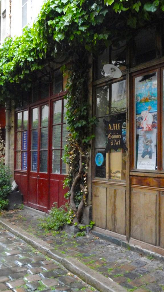 Balade dans le Faubourg Saint Antoine - Passage Lhomme