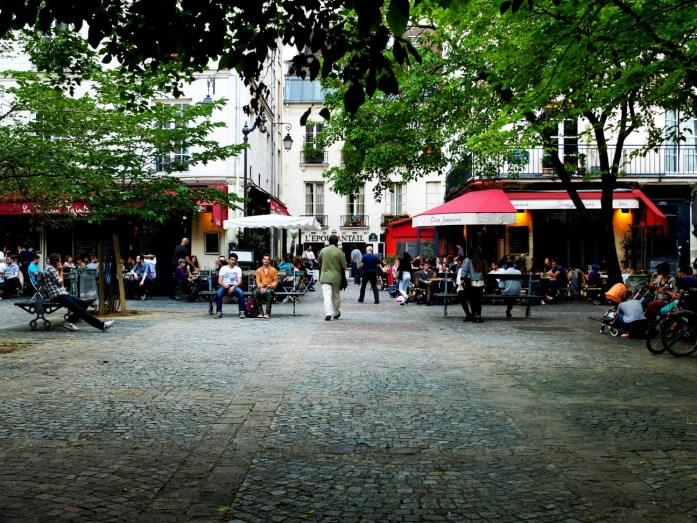 Balade dans le Marais - Place Sainte-Catherine