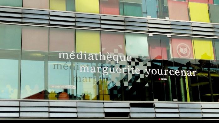 Balade dans le 15e - Médiathèque Marguerite Yourcenar