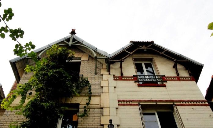 Balade dans le 15e - Villa Santos-Dumont