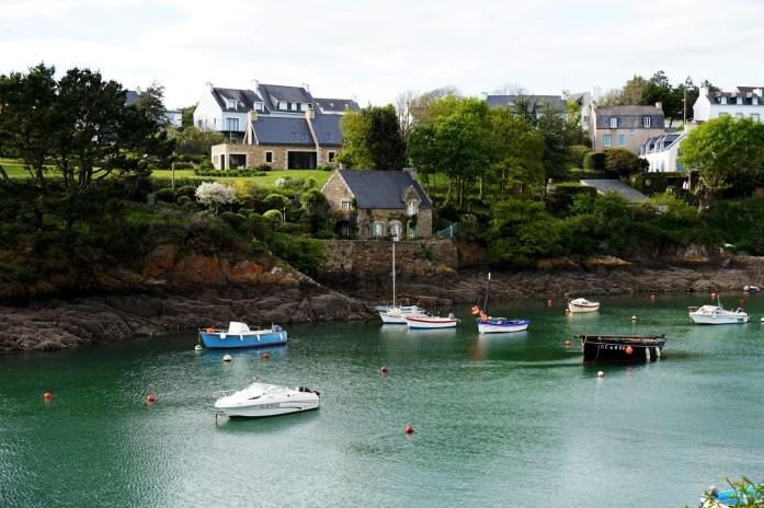 Vacances dans le Finistère Sud - Port de Doëlan