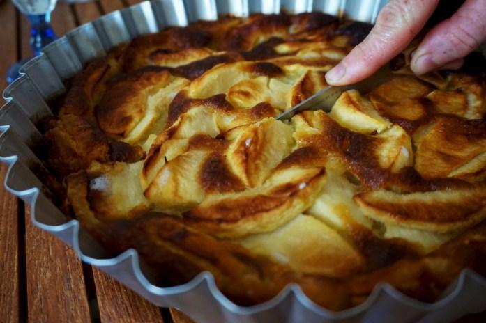 Vacances dans le Finistère Sud - Gâteau aux pommes