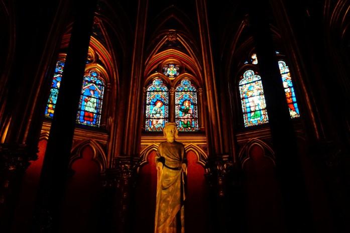 Sainte Chapelle - Chapelle basse - Paris
