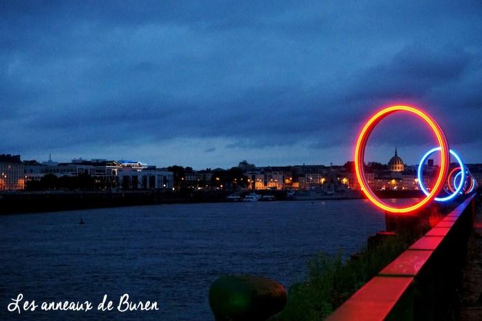 Un weekend à Nantes - Ile de Nantes - Parc des Chantiers - Les anneaux de Buren