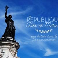 Balade dans le 3e // Entre République et Arts et Métiers