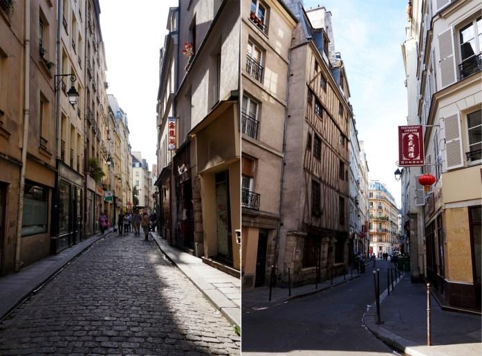 Balade dans le quartier Arts et Métier (3e) - Autour de la rue au Maire - Quartier chinois du Marais